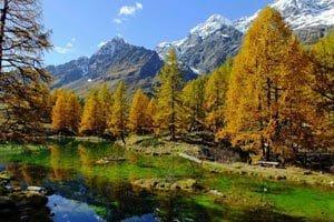 Piemonte e Valle D'Aosta in estate