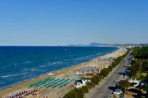 Senigallia: la spiaggia