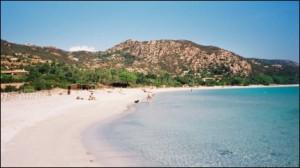 PALOMBAGGIA: la spiaggia piu affollata della Corsica