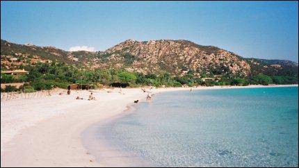 Di ficaiola o ficajola palombaggia la spiaggia piu affollata della