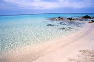 Mare incontaminato nella spiaggia di SALECCIA
